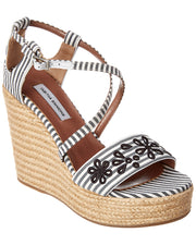 Tabitha Simmons Jenny Flower Wedge Sandal