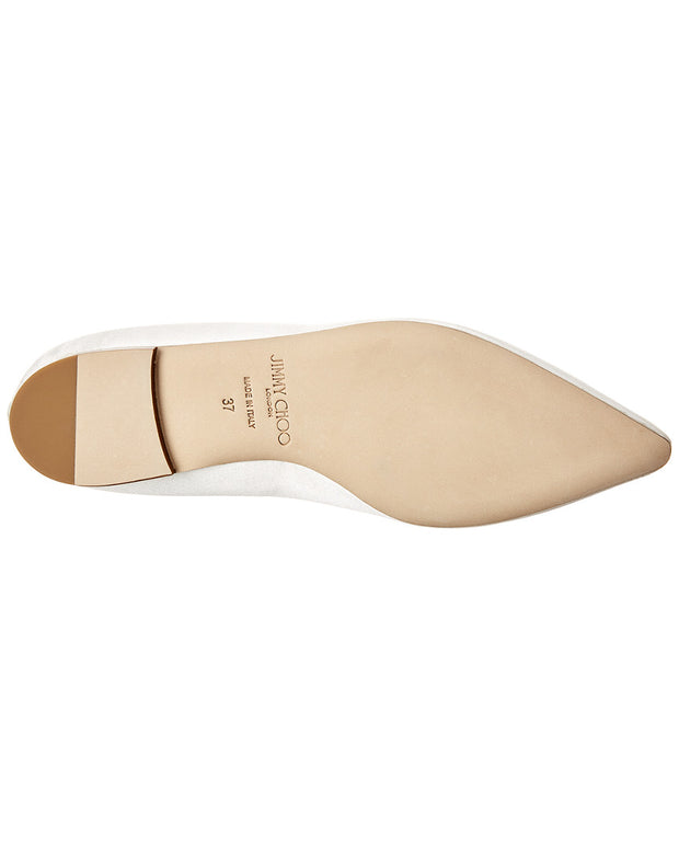 Jimmy Choo Romy Satin Flat