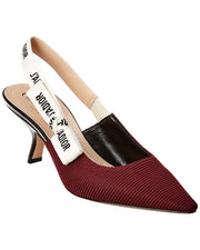 Dior J'adior Technical Fabric Slingback Pump