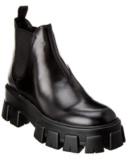 Prada Commando Leather Boot