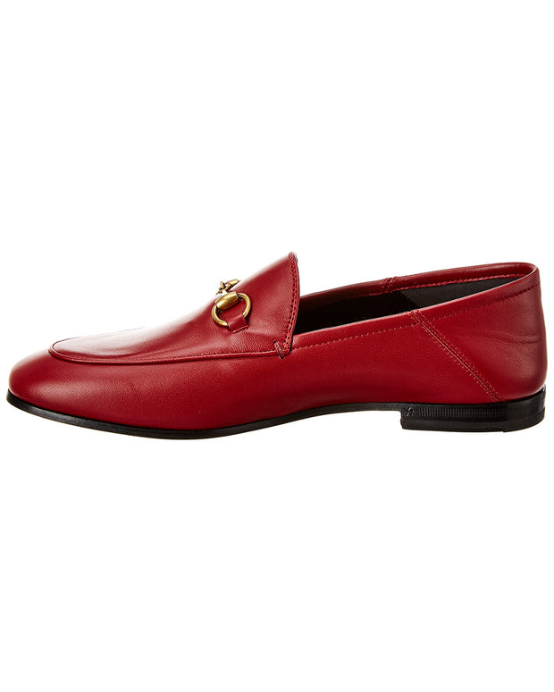 Gucci Brixton Horsebit Leather Loafer