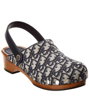 Dior Diorquake Slingback Leather Clog