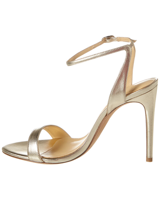 Alexandre Birman Willow 110 Metallic Leather Sandal