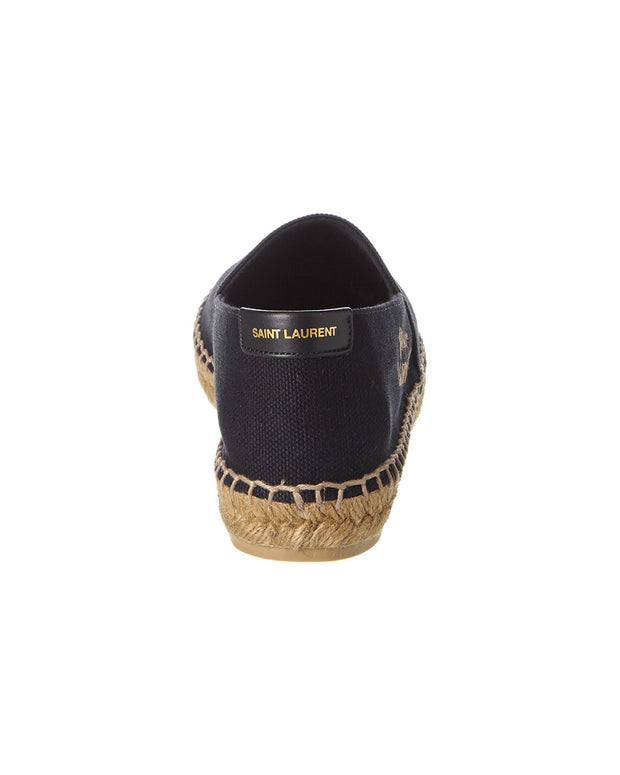 Saint Laurent Signature Canvas Espadrille