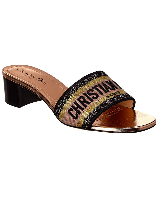 Christian Dior / Dior Dway Leather Sandal