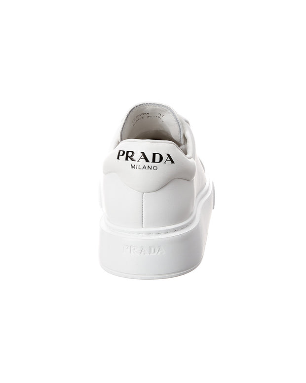 Prada Logo Leather Sneaker