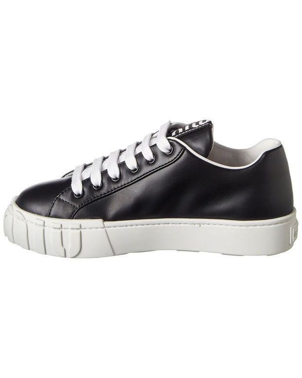 Miu Miu Leather Sneaker