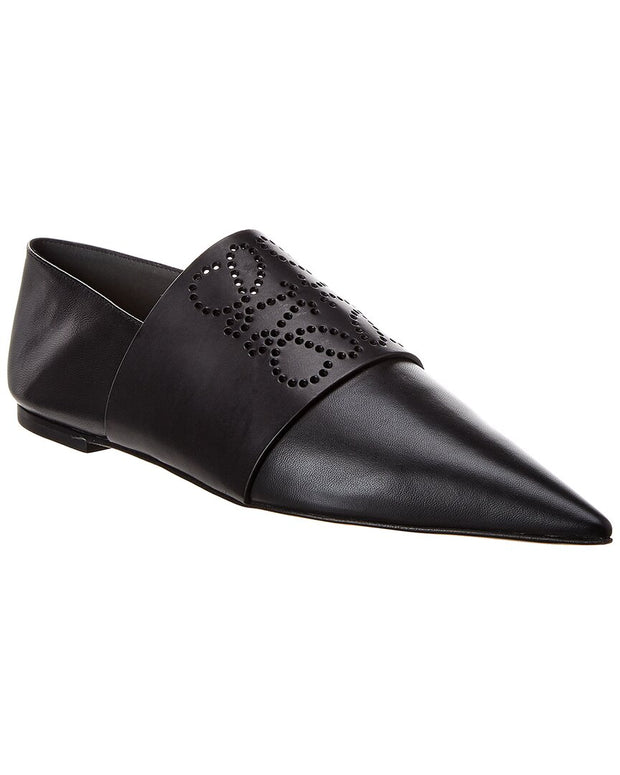 Loewe Perforated Leather Loafer