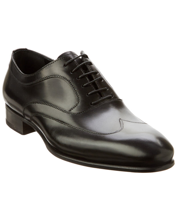 Caporicci Natural Calf Leather Wingtip Oxford