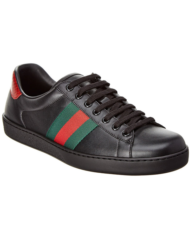 Gucci Ace Leather Sneaker