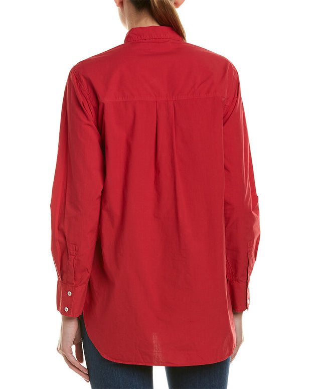 Velvet By Graham & Spencer Poplin Top
