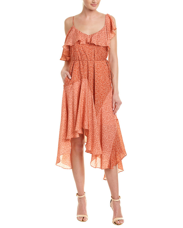 Joie Hacinthia Silk Maxi Dress
