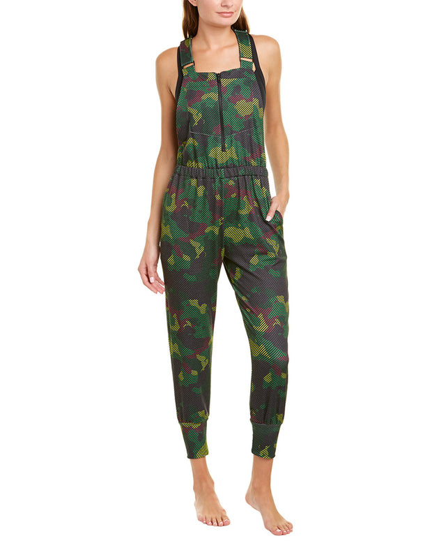 Terez Zip Front Printed Overall