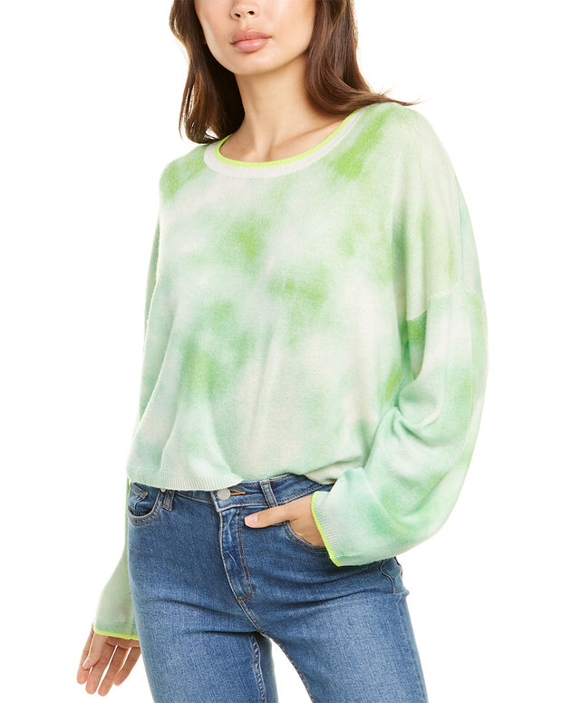 Scott & Scott London Chicago Tie-Dye Cashmere Sweater