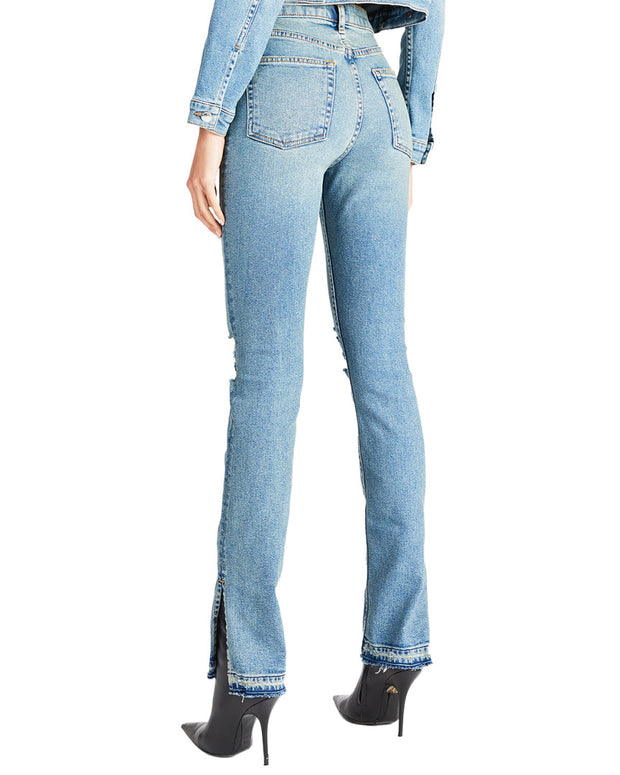 Cotton Citizen High Split Skinny Leg
