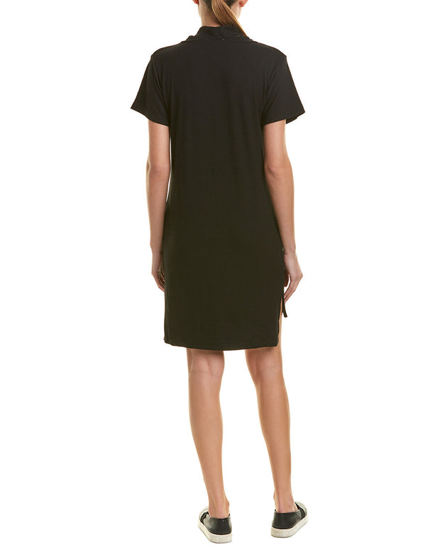 Lna Klassen Choker Shift Dress
