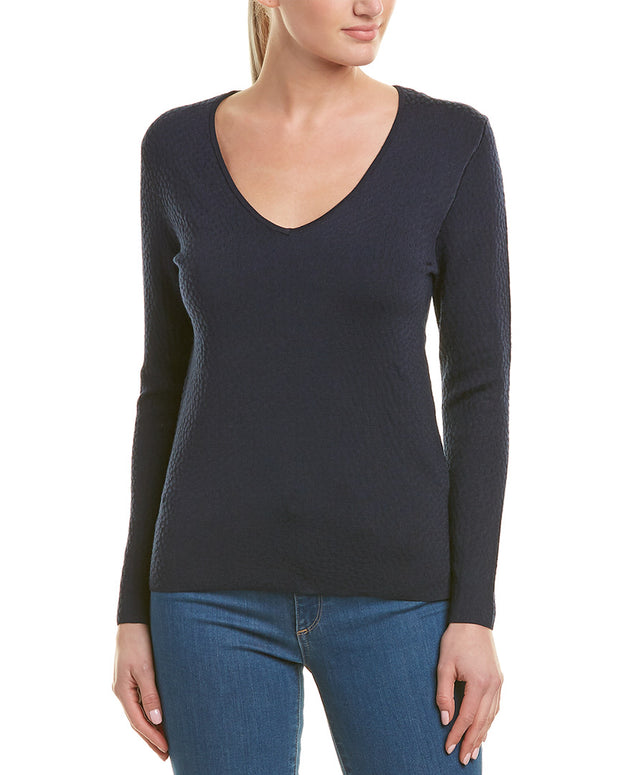 Reiss Bess Wool-Blend Top
