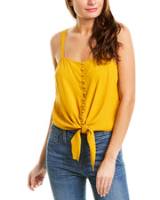 Madewell Crepe Tie-Front Cami