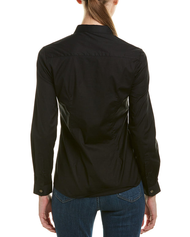 The Kooples Stretch Popeline Top