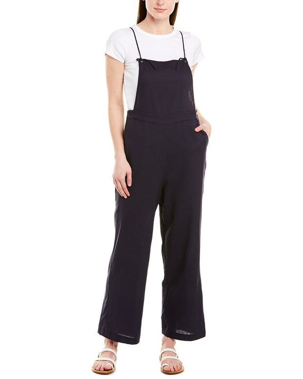The Good Jane Joelle Linen-Blend Overall