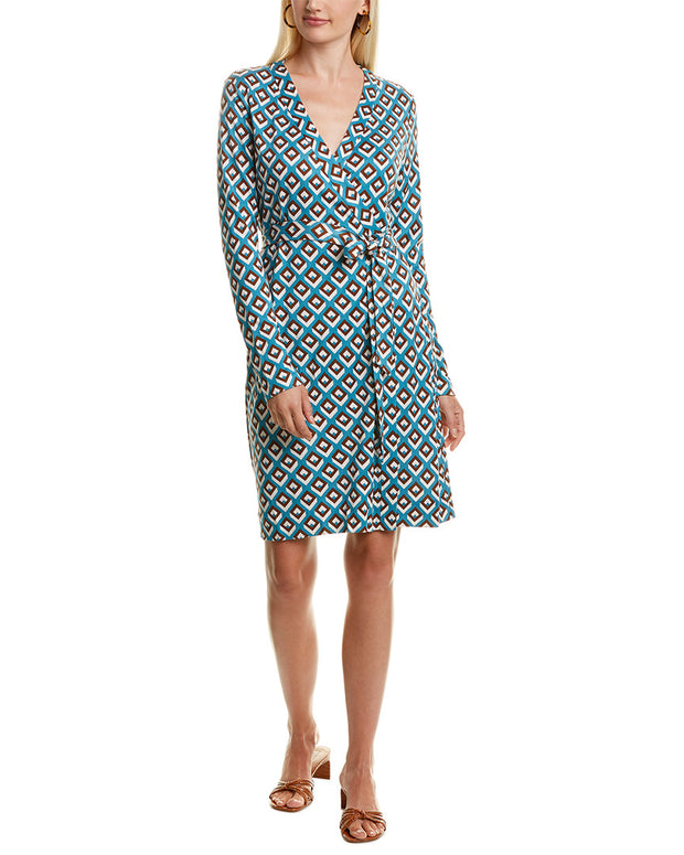 Diane Von Furstenberg Julie Silk Wrap Dress