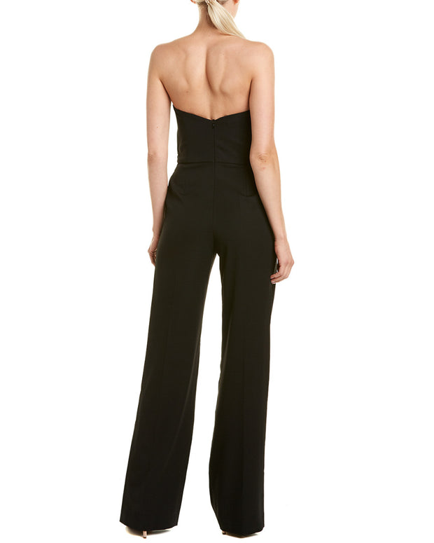 Stella Mccartney Silk-Lined Wool Jumpsuit