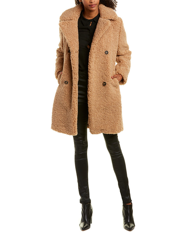 Mkt Studio Madime Teddy Bear Coat