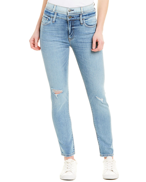 Hudson Jeans Holly Provoking High-Rise Crop Skinny