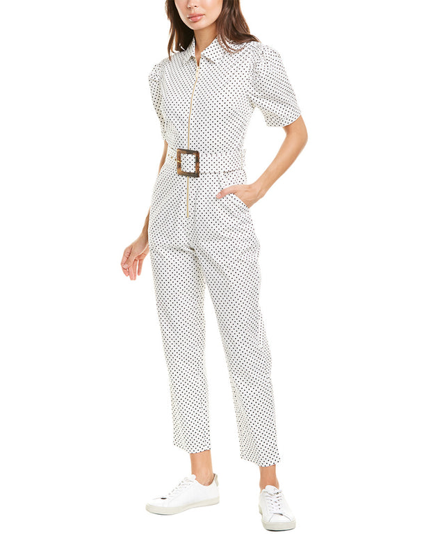 Weworewhat Belted Jumpsuit