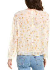 Vince Pressed Petal Blouse