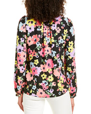 Kate Spade New York Mainline Wildflower Bouquet Blouse