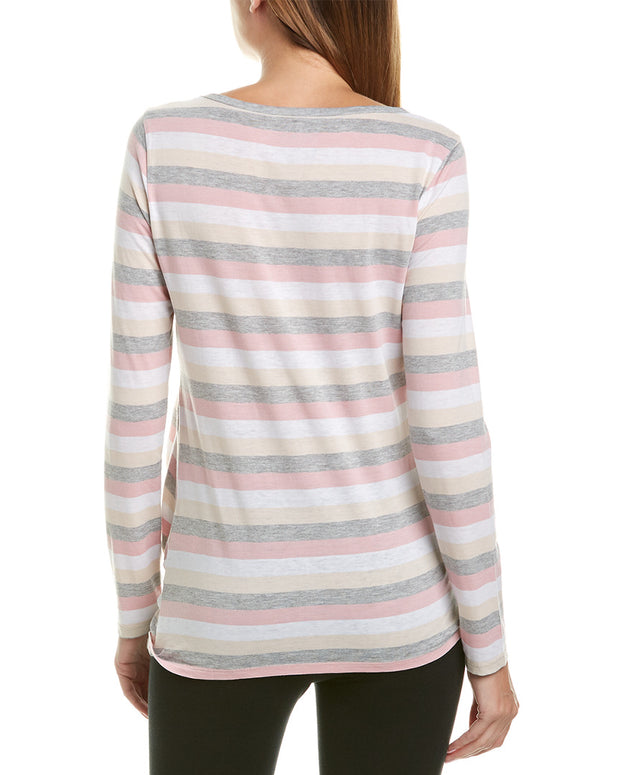 Marc New York Performance Washed Stripe T-Shirt