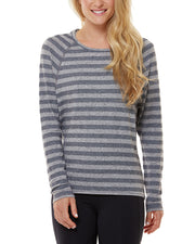 Shape Activewear Linen-Blend Dolman T-Shirt