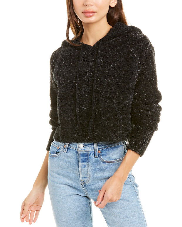 For Love & Lemons Jacques Cropped Hoodie