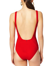 Derek Lam 10 Crosby Lace Up Front One Piece