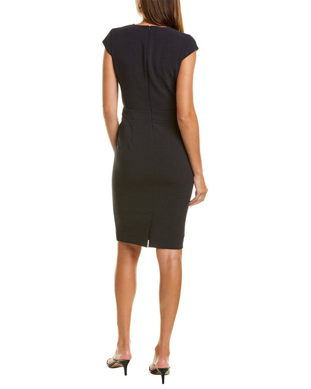 Max Mara Bill Wool-Blend Sheath Dress