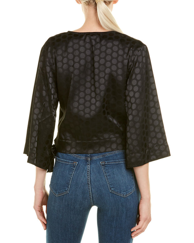 Rosewater Remi 3/4-Length Sleeve Top