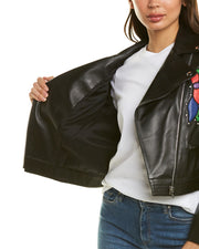 Escada Lydnia Leather Jacket