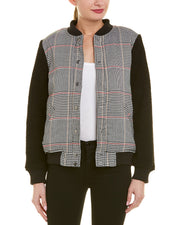 The Fifth Label Portray Check Bomber Jacket