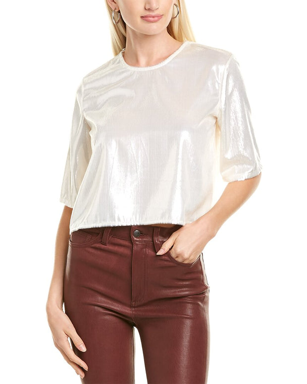 Michelle Mason Cropped T-Shirt
