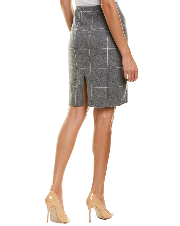 Kier + J Cashmere Pencil Skirt