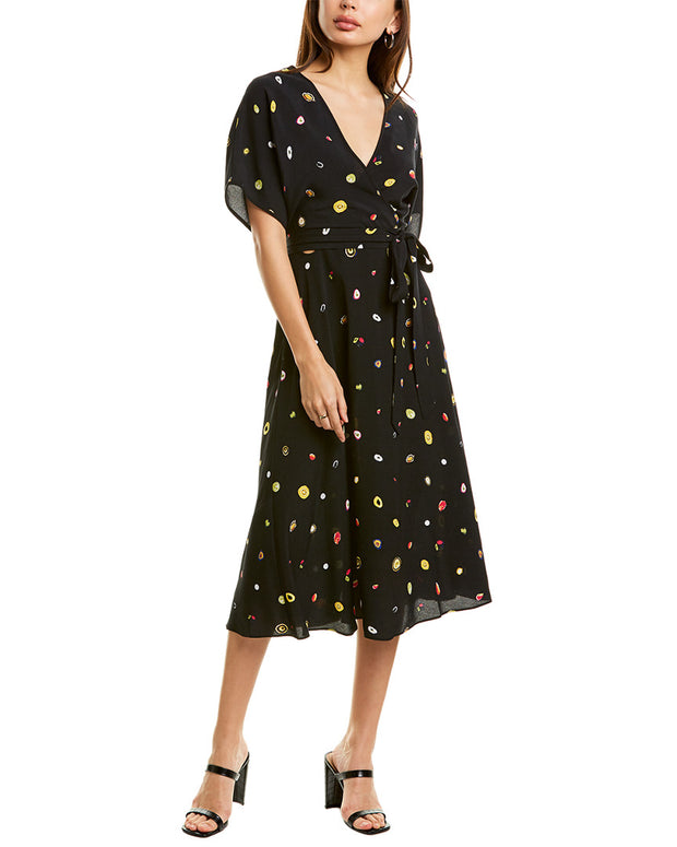 Diane Von Furstenberg Kelsey Wrap Dress