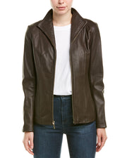 Cole Haan Leather Jacket