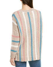 70F/21C Stripe Sweater