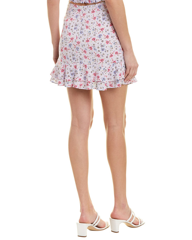 Dance & Marvel Mini Floral Skirt