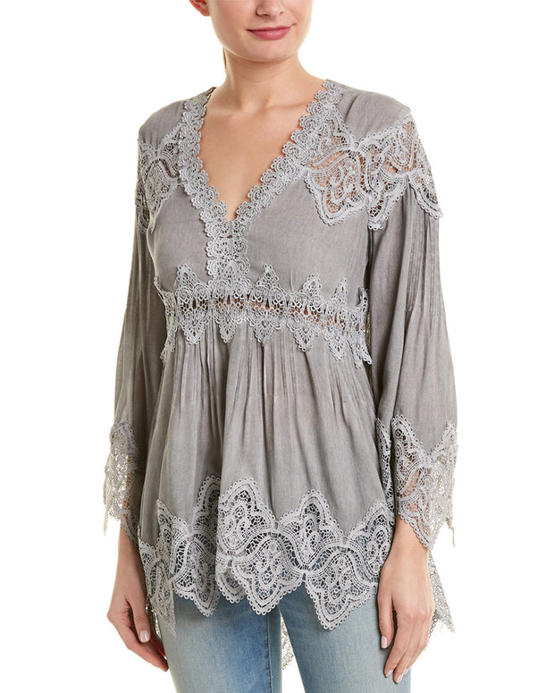 Pol Clothing Long Sleeve Tunic