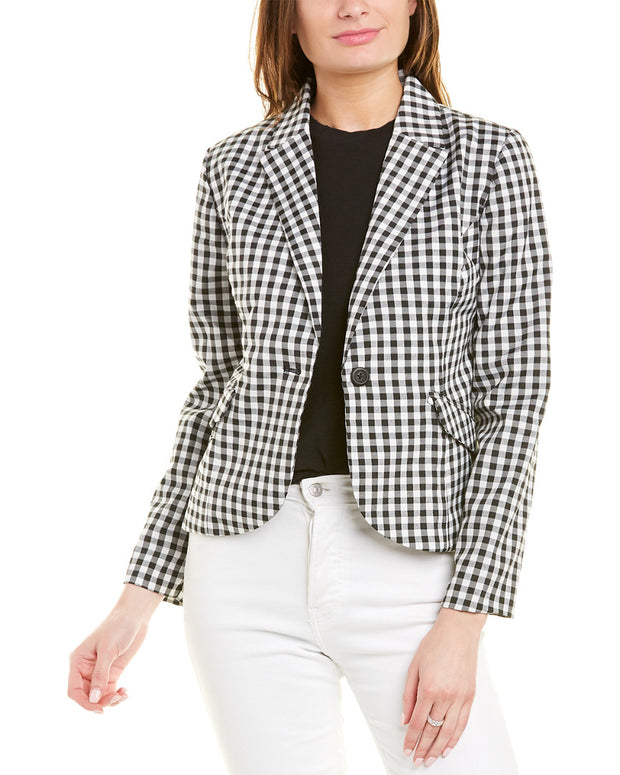 Bb Dakota Gingham Blazer