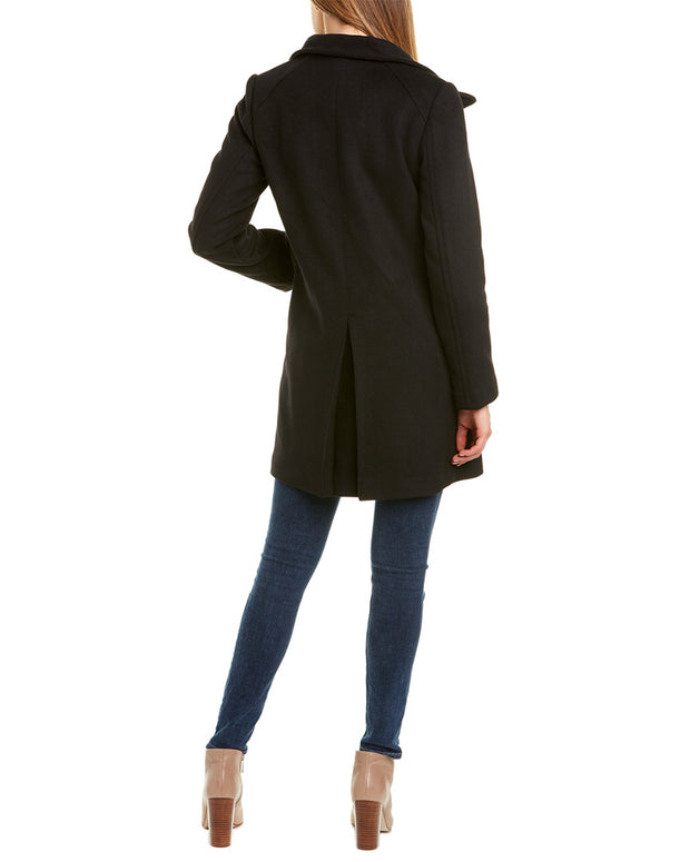 Cole Haan Signature Topper Wool-Blend Coat