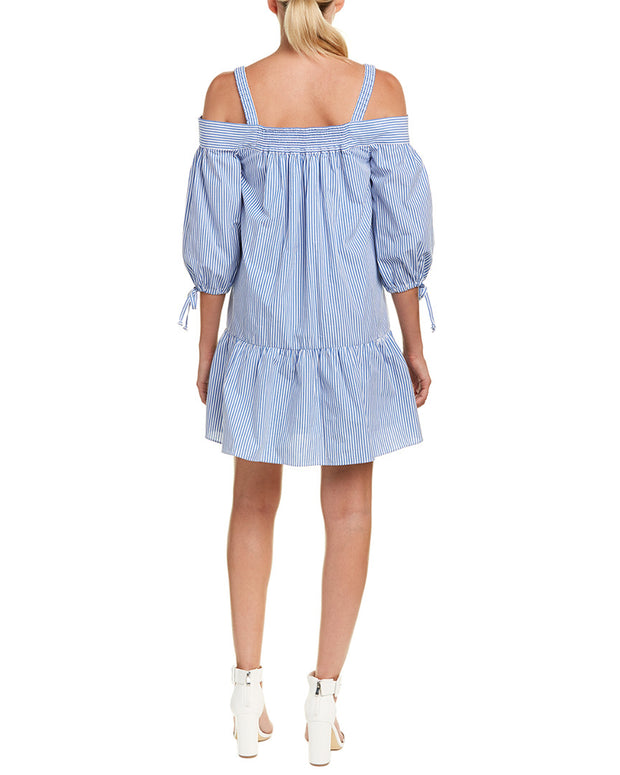 Kensie Drawstring Shift Dress