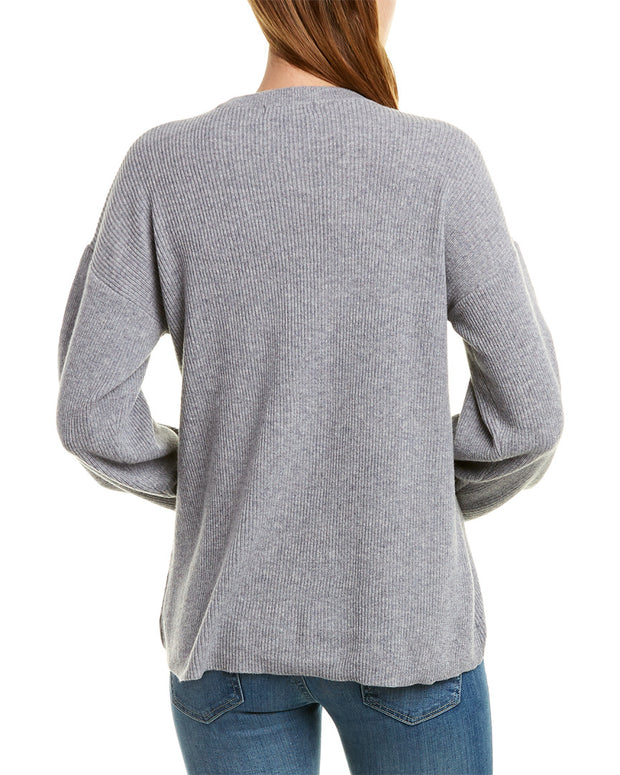525 America Pleated Cashmere Sweater